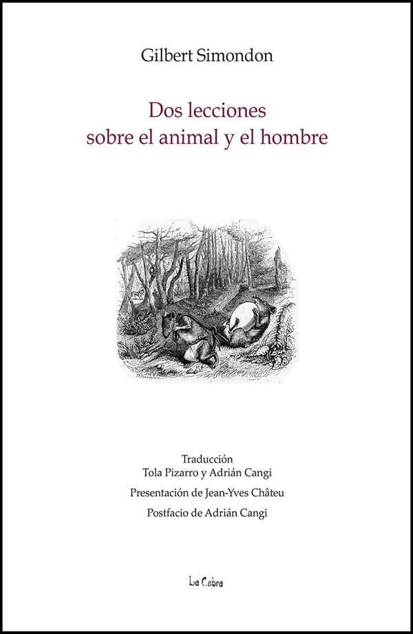 Dos lecciones sobre el animal y el hombre